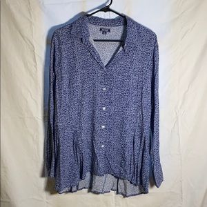 Paisley blouse by Izod XL